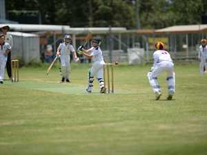 Cricket: GC U12 Riley Bell.