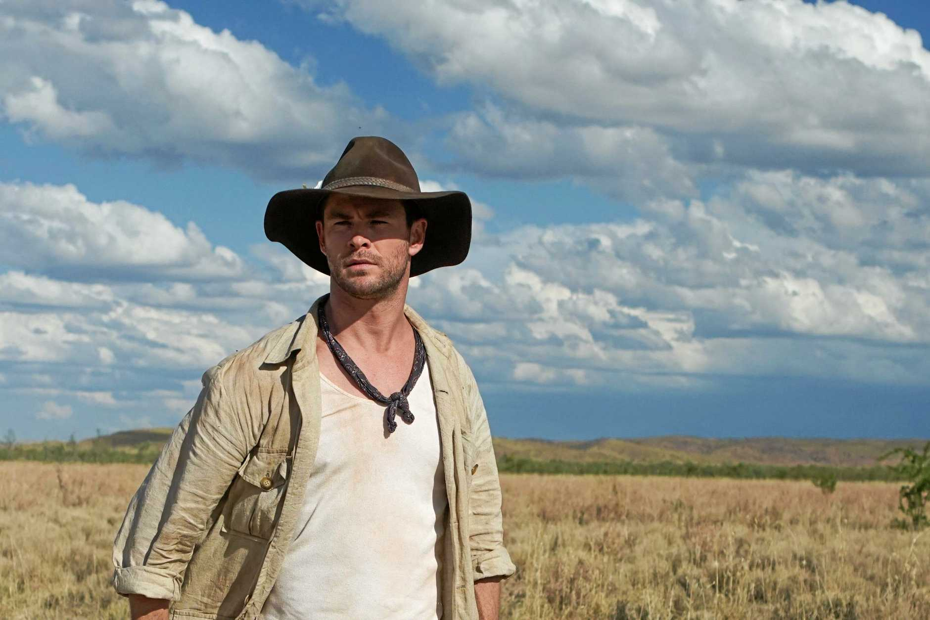 Chris Hemsworth starred in a spoof Crocodile Dundee film trailer for Tourism Australia.