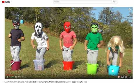 The four-minute Learn Your Bucket Colors film racked up 86 million views in 2018.
