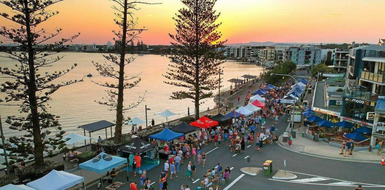 NIGHT DELIGHT: The Twilight Markets in Caloundra will be held every Friday night along Bulcock Beach Esplanade until January 25.
