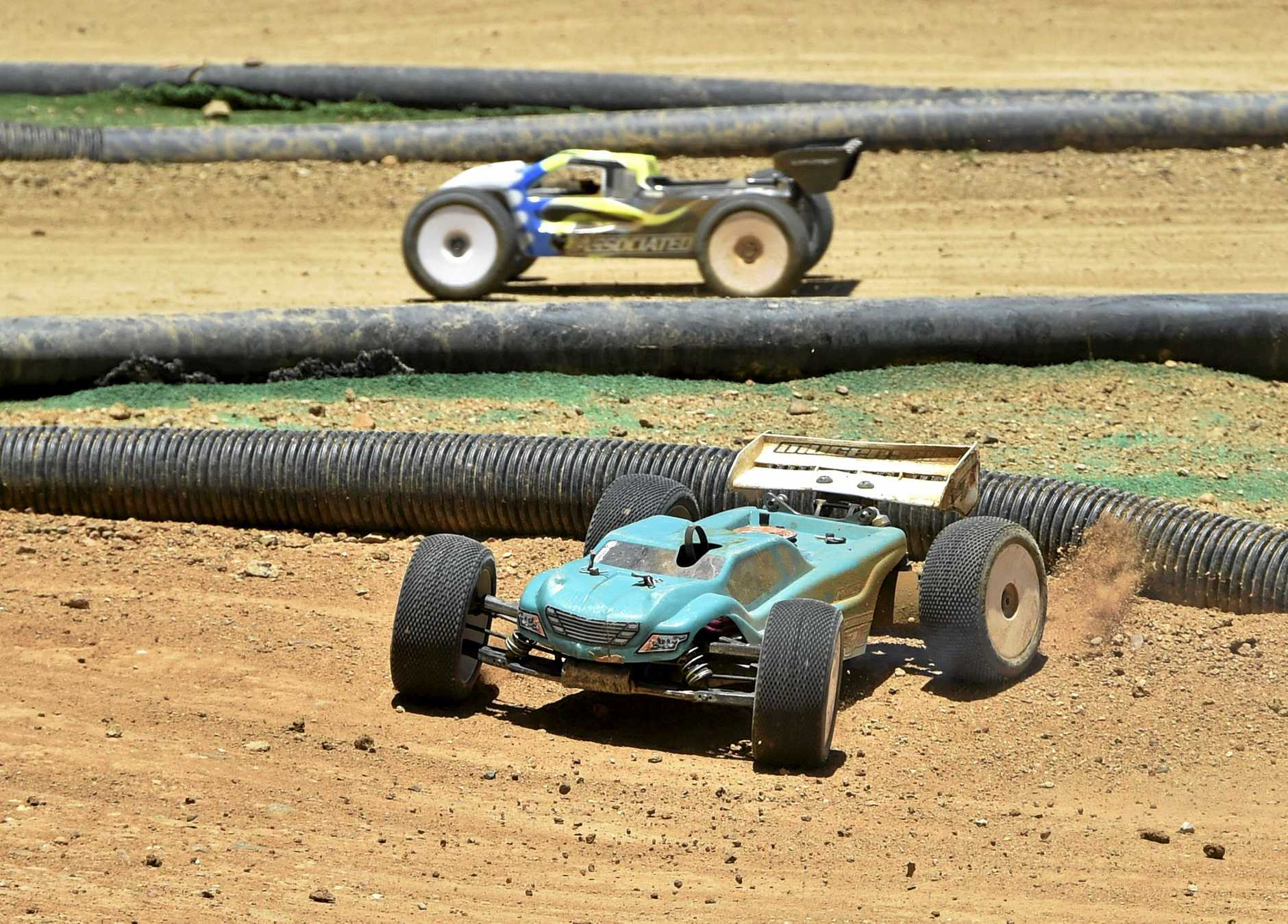 Remote control car competition at Toowoomba Showgrounds November 2017