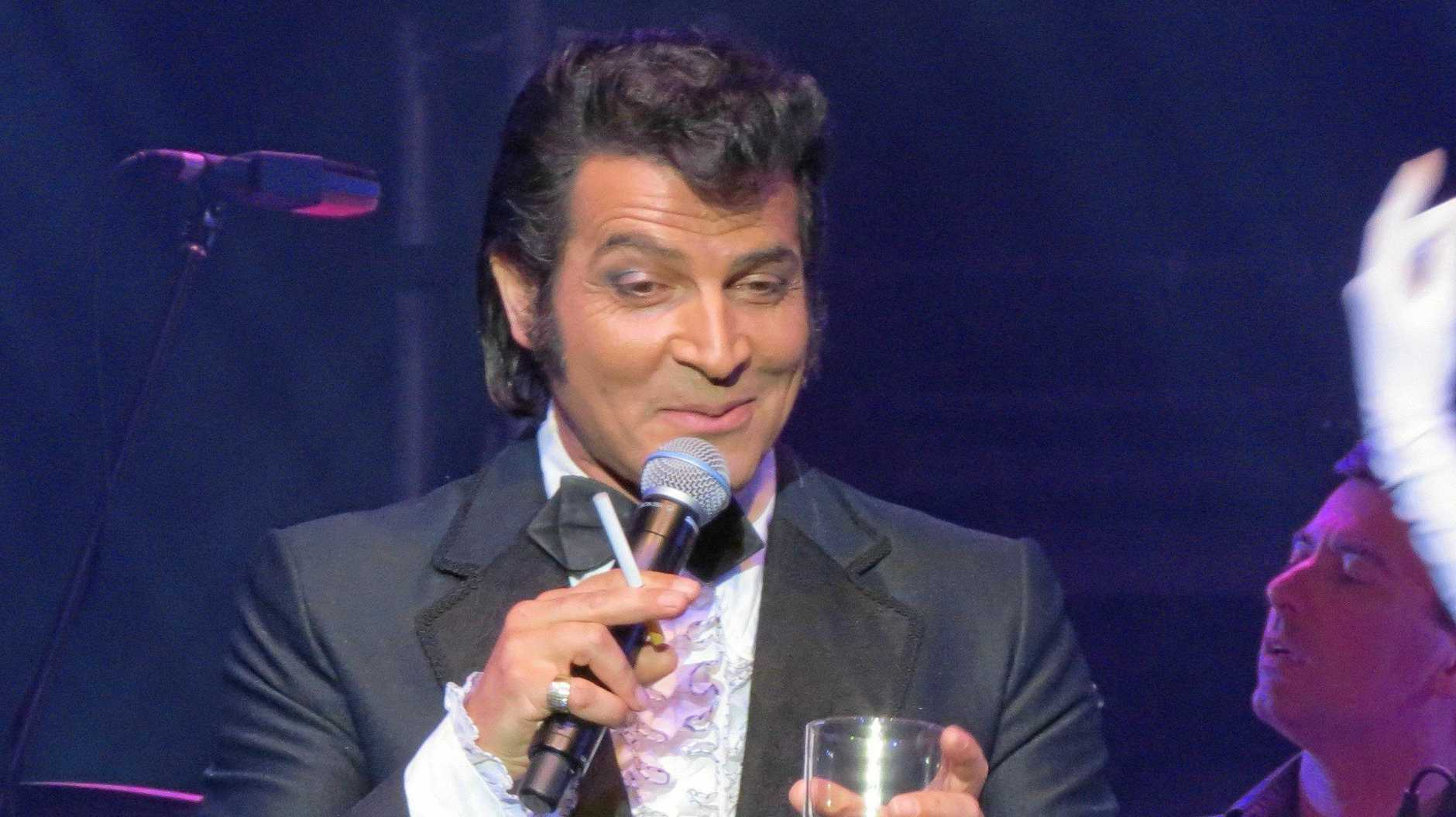 DEANO: Mark Andrew as Dean Martin. He will play the Glasshouse Mountains Tavern on New Year's Eve.