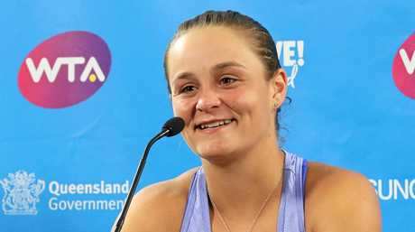 Ash Barty has the tennis world at her feet.