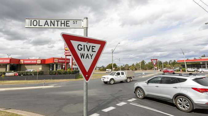 Changes to Iolanthe St intersection