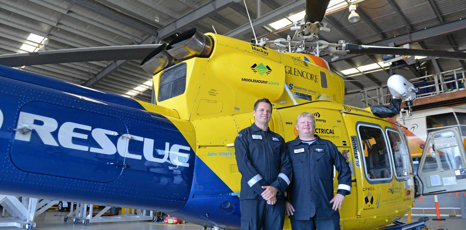 RACQ CQ Rescue has winched a 70-year-old American tourist with a cardiac condition off the luxury cruise ship Seven Seas Mariner near Stanage Bay.