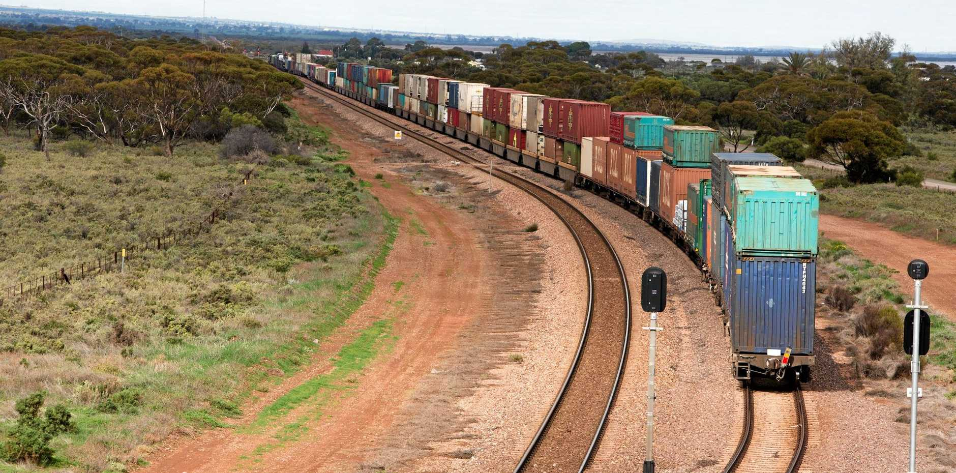 ON THE RAILS: Construction of the Inland Rail will improve the transportation of agricultural goods in regional towns.
