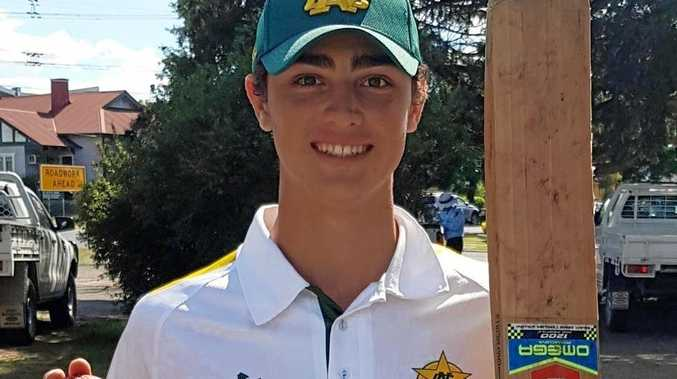 All-rounder Oliver Cronin has been a standout in the North Coast Under-18 cricket team at Narribri this week.