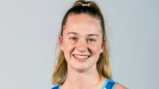 AT RIGHT: Alstonville netballer Leilani Rohweder has made the NSW U19 team playing in the National Netball Championships.