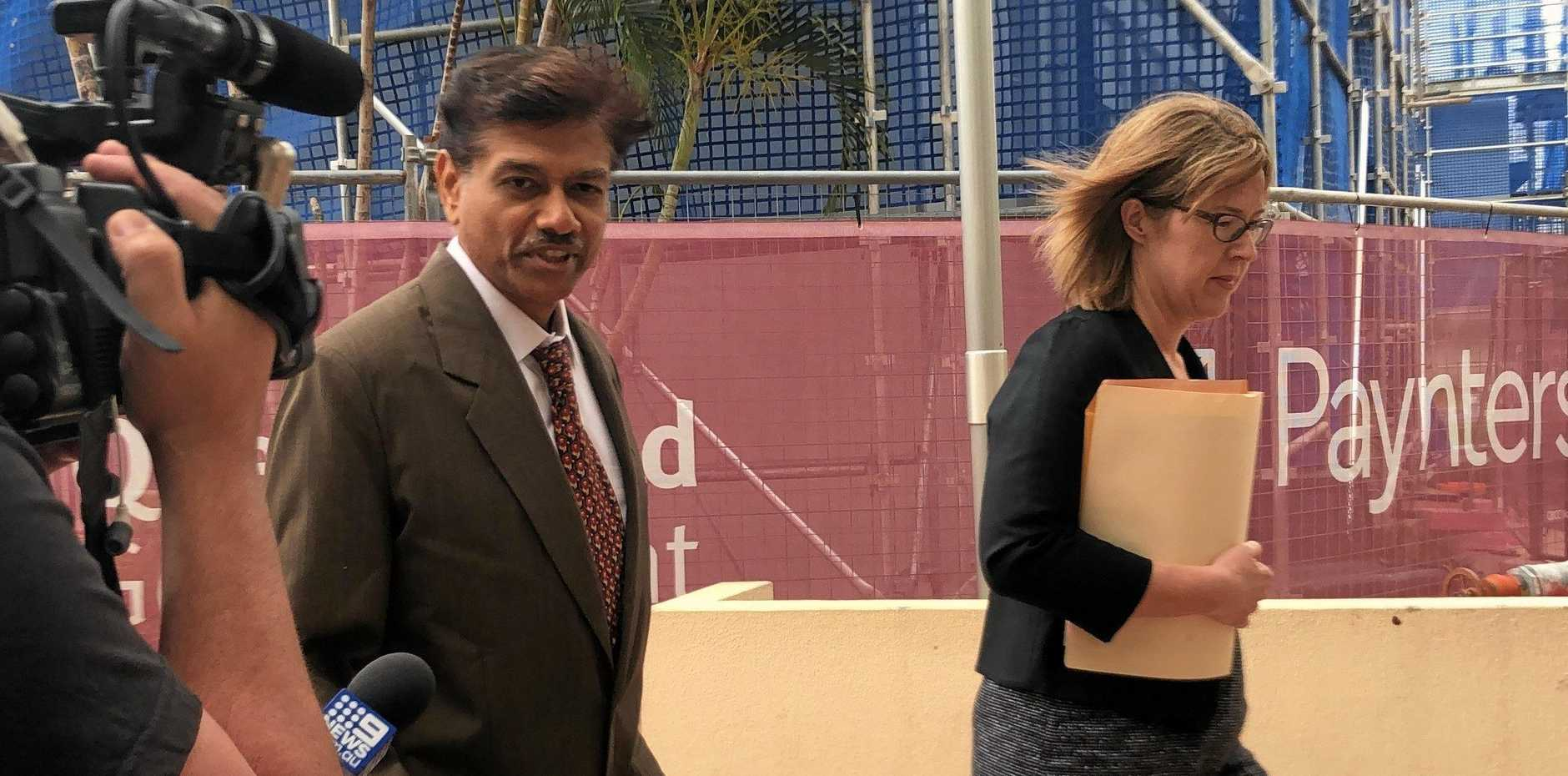 Dr Elamurugan Arumugam is accused of sexually assaulting seven patients between 2009-2013. He has pleaded not guilty to all 31 charges and is on trial in the Rockhampton District Court this week.