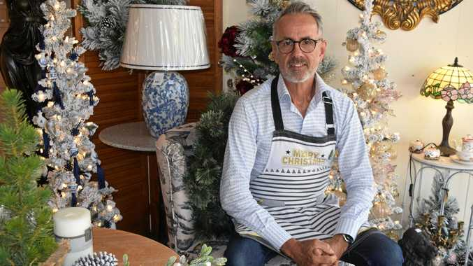 CHRISTMAS SHOPPING: Avenell Bros owner John Greenhalgh welcomes shoppers this Christmas.