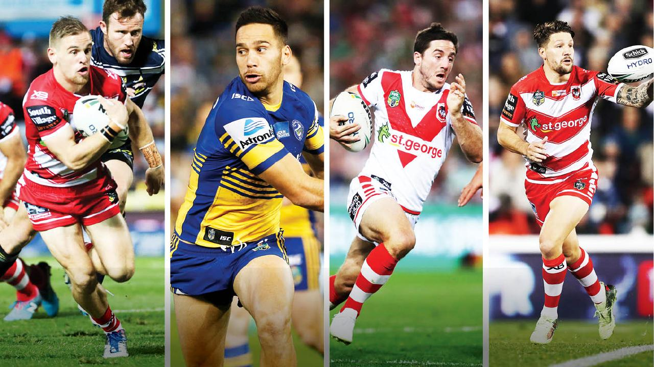 Matt Dufty, Corey Norman, Ben Hunt and Gareth Widdop.