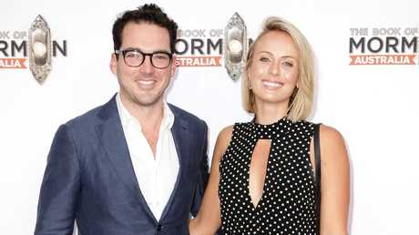 Peter Stefanovic and Sylvia Jeffreys were together during the infamous Ubergate scandal. Picture: Christian Gilles