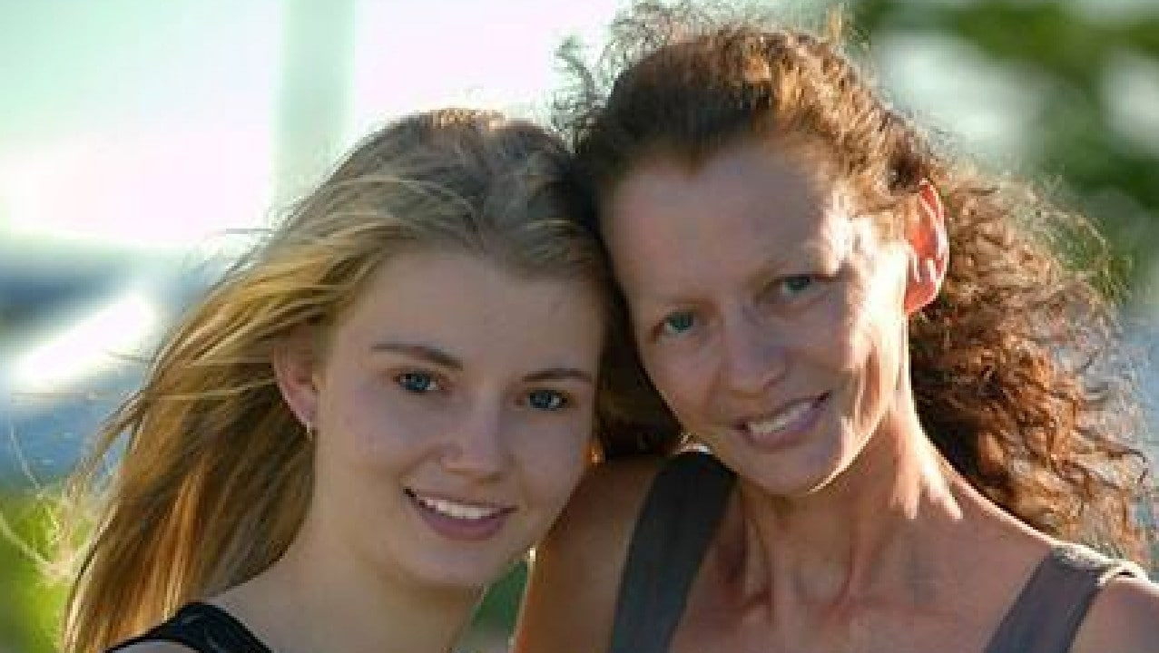 Makayla Tritton and her mum Karin who died in a car crash on Christmas Day last year. Photo: Living & Loving photography