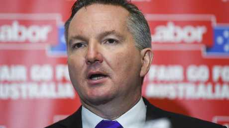 Shadow Treasurer Chris Bowen said concerns over interest-only loans were raised earlier this year by the regulatory body now removing the cap. Picture: Lukas Coch/AAP