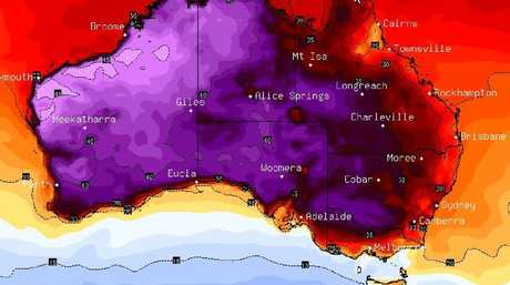 Christmas Day is going to be roasting in parts of SA, the NT and WA with above average temperatures in many other areas. Picture: BSCH
