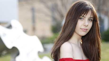 Eurovision contestant Leea Nanos. Picture: Supplied.