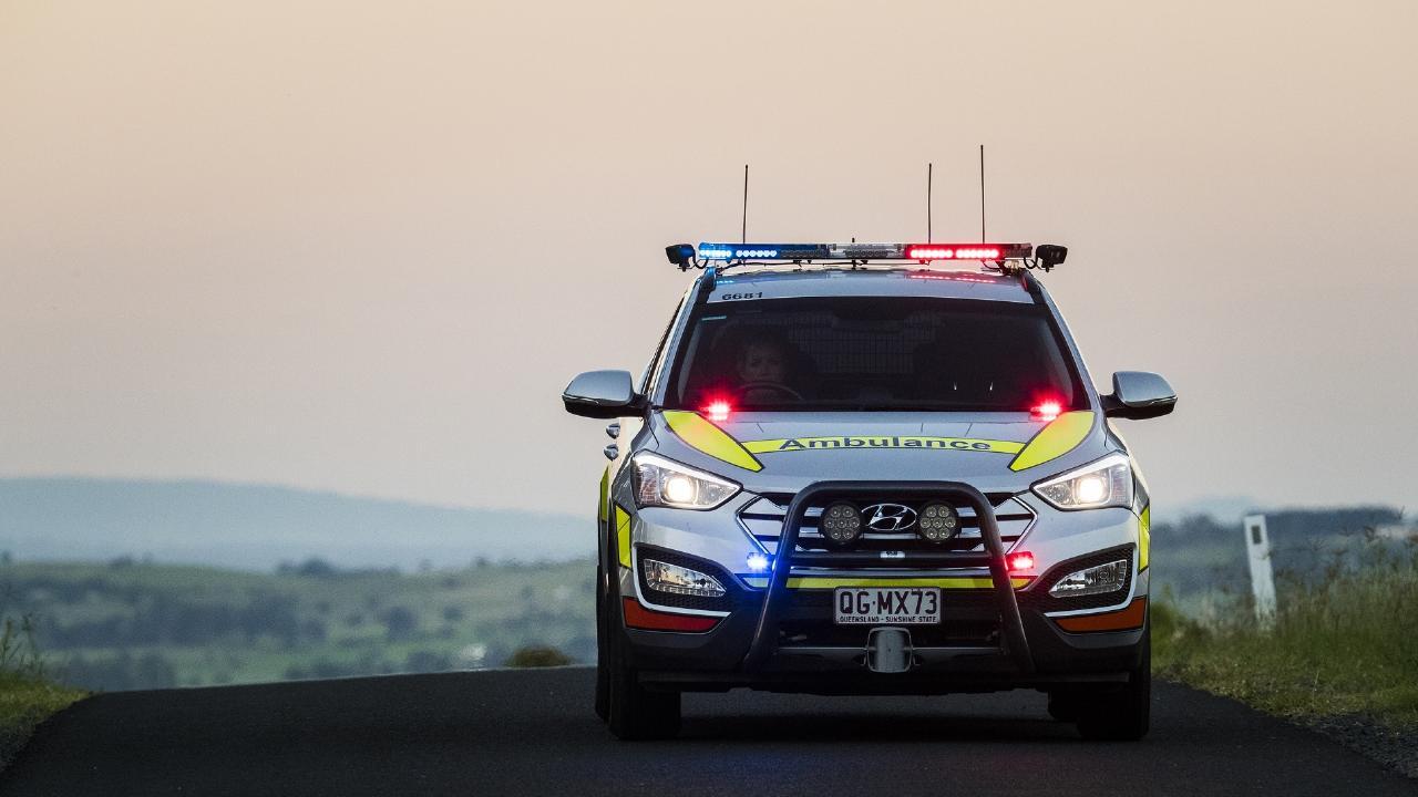 Queensland Ambulance crews are assessing a pilot after a helicopter crash at Gumlu.