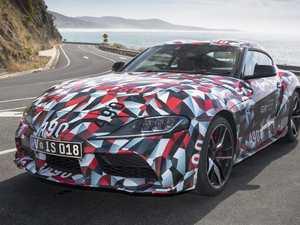 Modern reincarnation of Toyota Supra lands for testing