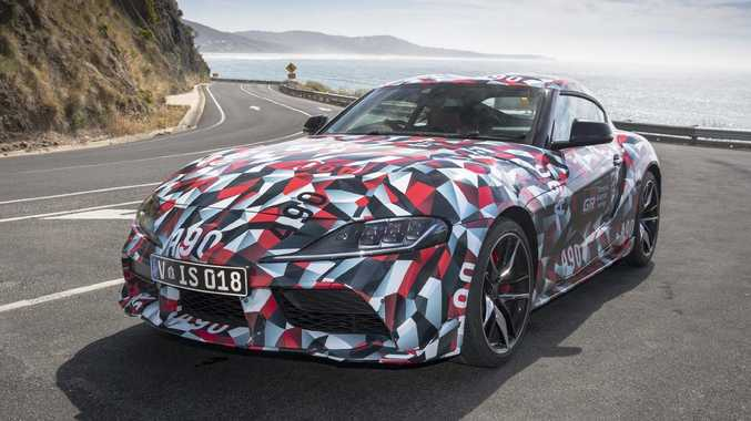 Modern reincarnation of Toyota Supra lands for testing