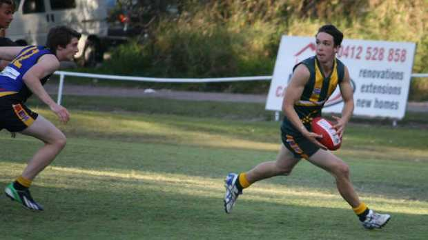 Haydyn Cliff was a star young footy player before a drunk driver ran him down, shattering his leg.
