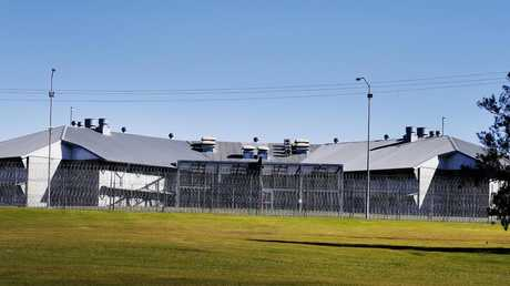 A prison guard was flown to a Brisbane hospital for treatment following a serious assault at Woodford Correctional Centre on . Picture: Lachie Millard