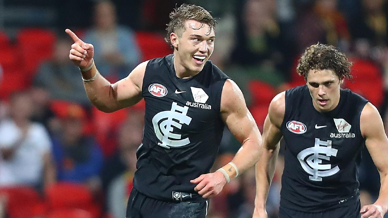 Carlton won just two games this season but still recorded a profit. Picture: Getty