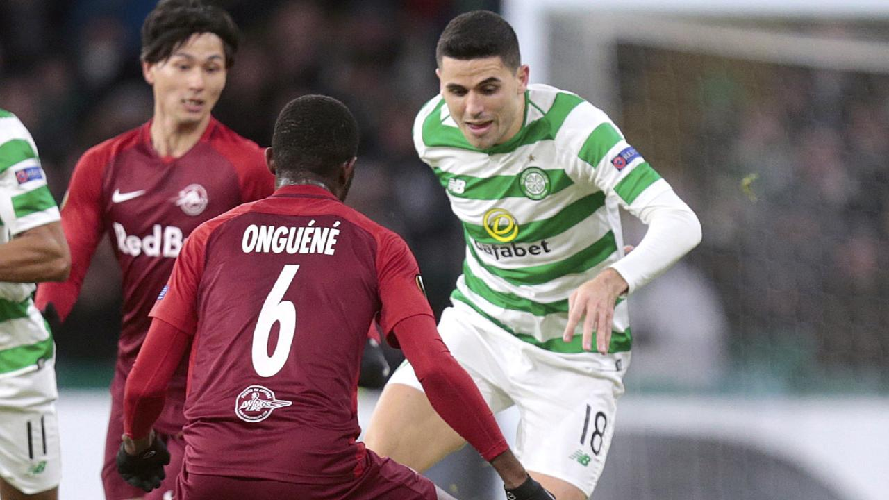 Tom Rogic will get a break from the Scottish winter. (Graham Stuart/PA via AP)
