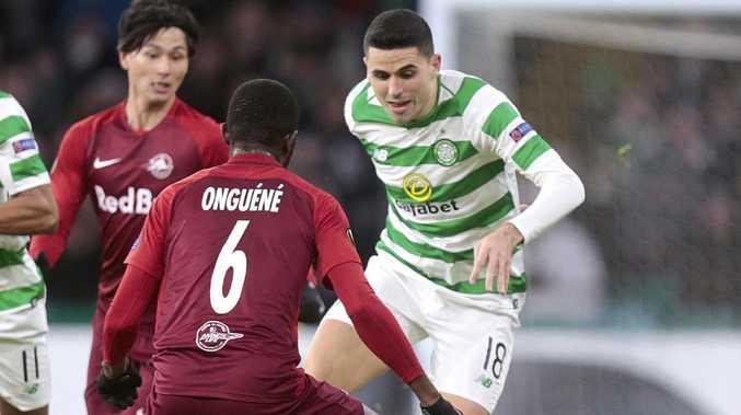 Tom Rogic will get a break from the Scottish winter. (Graham Stuart/PA via AP)
