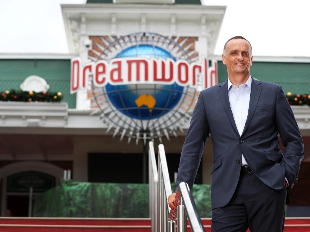 New Dreamworld CEO John Osborne has high hopes for Dreamworld's ability to return to the glory years he remembered as a frequent visitor over the past 30 years. Picture: Nigel Hallett