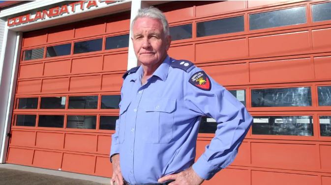 John McNamara retired in 2013 after 39 years and 10 months of service at the Coolangatta-Bilinga Fire Station.