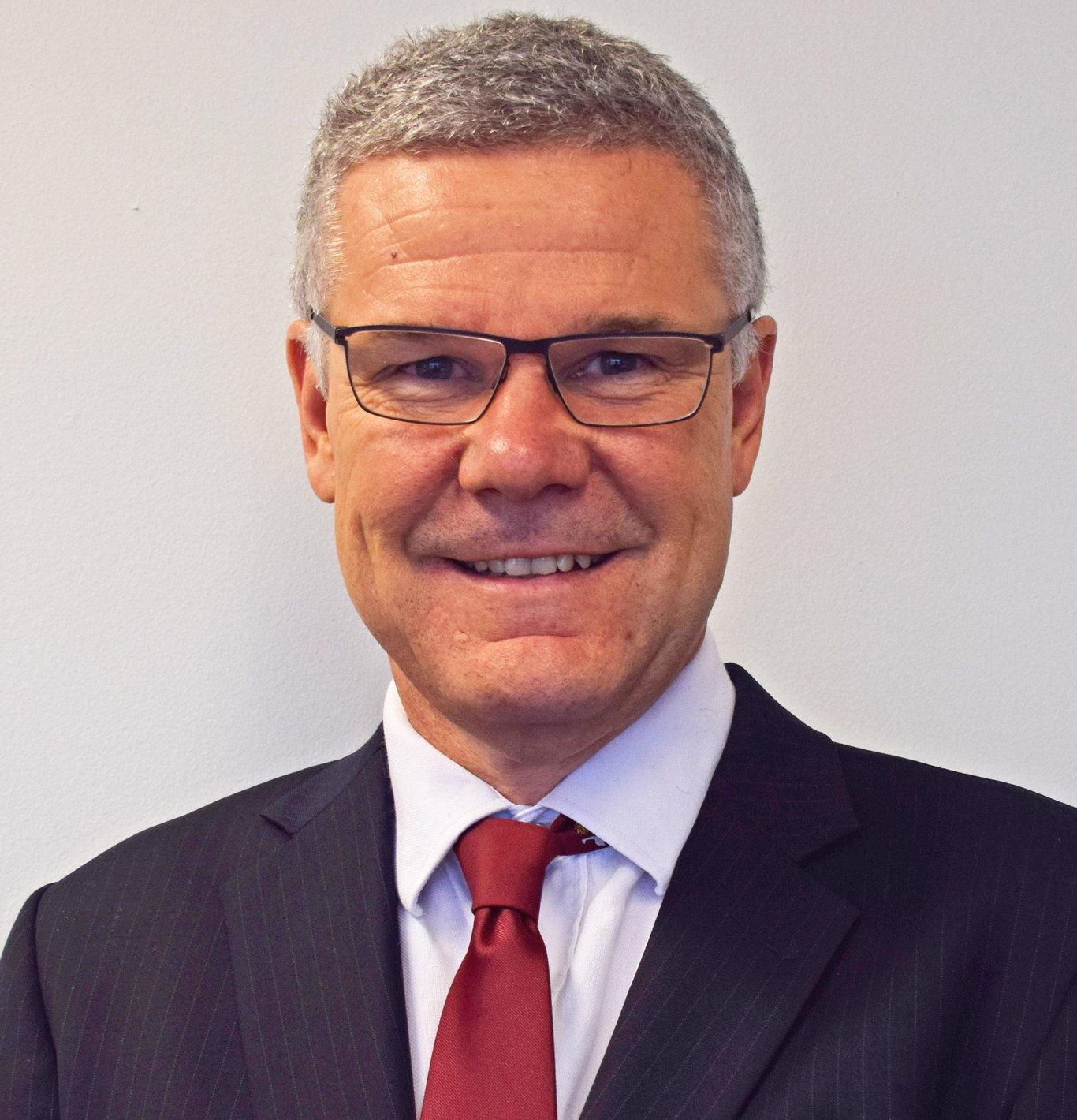 Ipswich City Council's new CEO David Farmer.