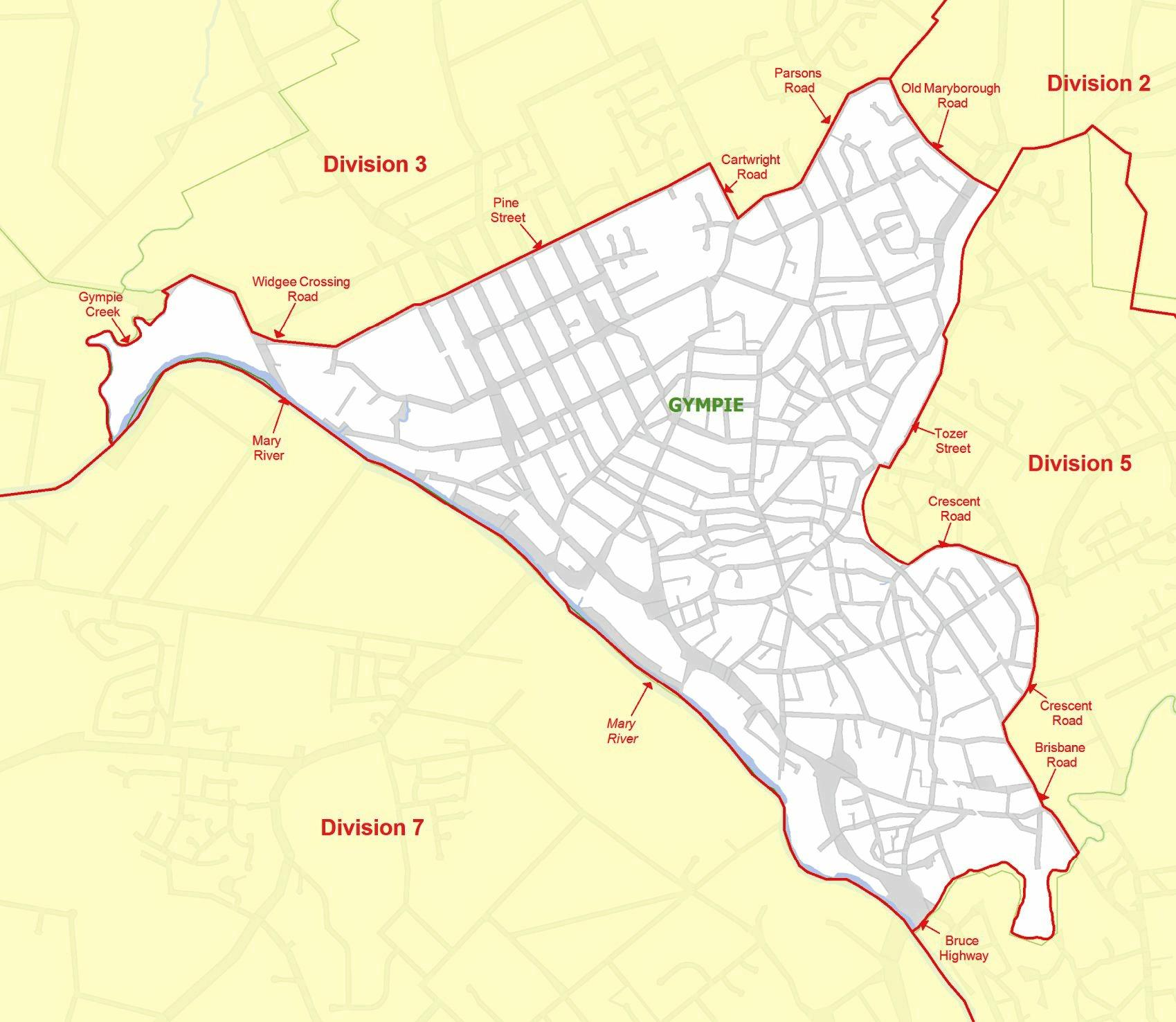 Gympie Regional Council Division 4