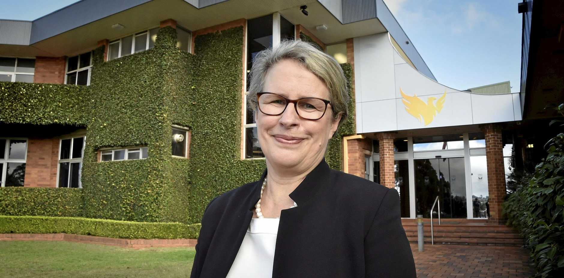 University of Southern Queensland Vice-Chancellor Geraldine Mackenzie.