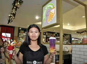 Bubble tea, crazy waffle dessert at new Toowoomba kiosk