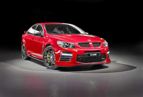 The safety notice affects HSV VF Clubsport, HSV VF Maloo and HSV VF GTS.