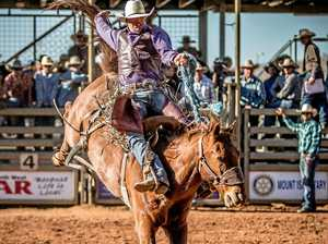 Former Mt Isa Rodeo champion saddles up for Mitchell event