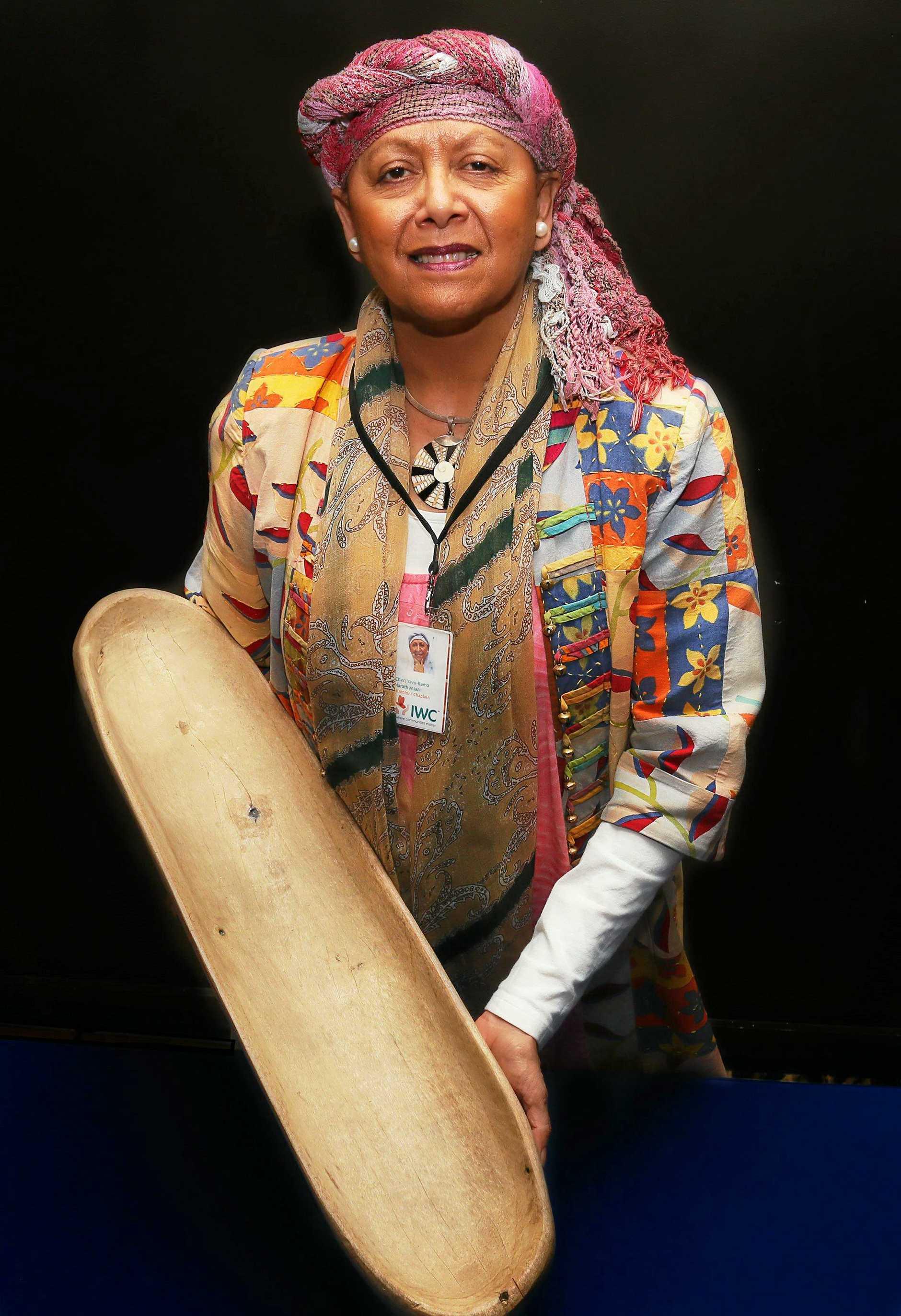 LIFE CHANGING: Aboriginal Elder Aunty Cheri Yingaa Yavu-Kama-Harathunian helped design the Healing Circle Work program.