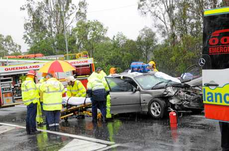 The upgrade of the Wide Bay and Bruce Highway intersections, which has been the sight of numerous crashes, has been delayed.