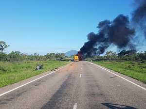 Backpacker killed in fiery Bruce Highway crash
