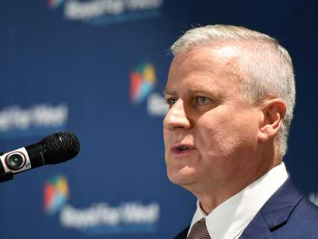 """Deputy Prime Minister Michael McCormack has taken an extraordinary swipe at colleagues as a leadership challenge looms amid the """"sugar baby"""" scandal fallout. Picture: AAP"""