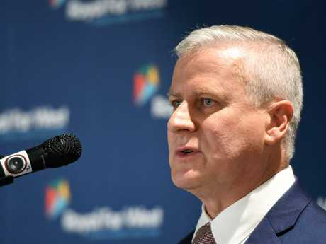 "Deputy Prime Minister Michael McCormack has taken an extraordinary swipe at colleagues as a leadership challenge looms amid the ""sugar baby"" scandal fallout. Picture: AAP"