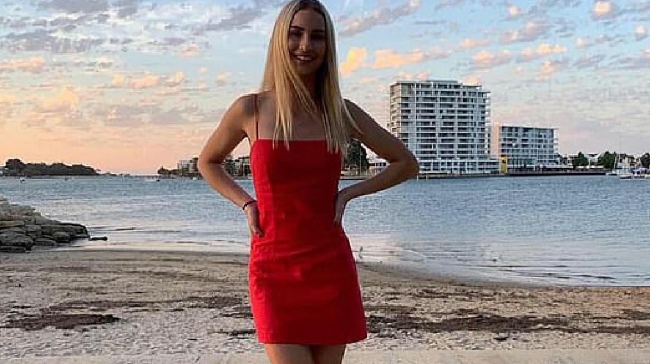Kimberley Berente, 17, from Mandurah, south of Perth, lost her life in the horror crash.