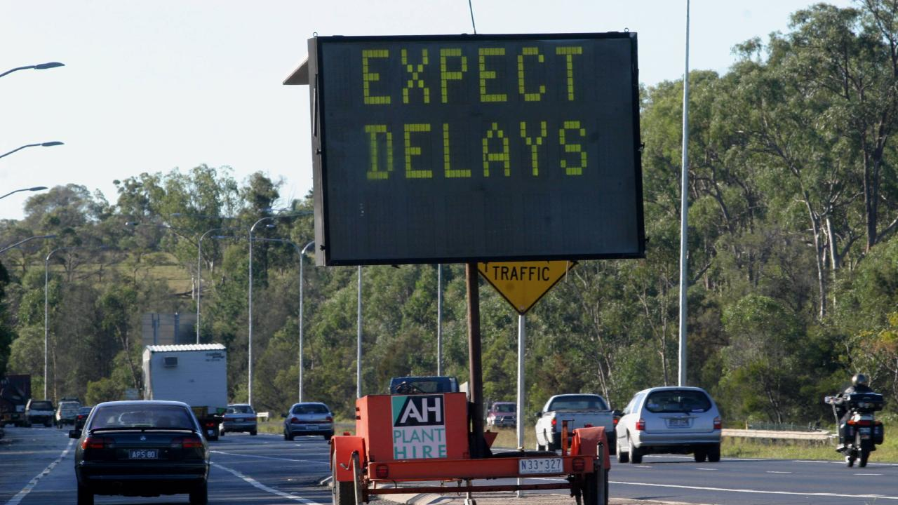Roadworks are scheduled for the M1/M3 Gateway merge project. Picture: Megan Cullen