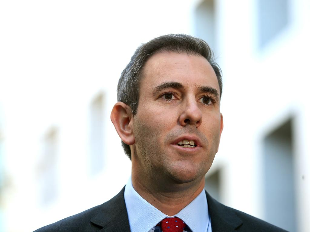 Shadow Minister for Finance Jim Chalmers slammed the Coalition for their sky-high bill. Picture: Kym Smith