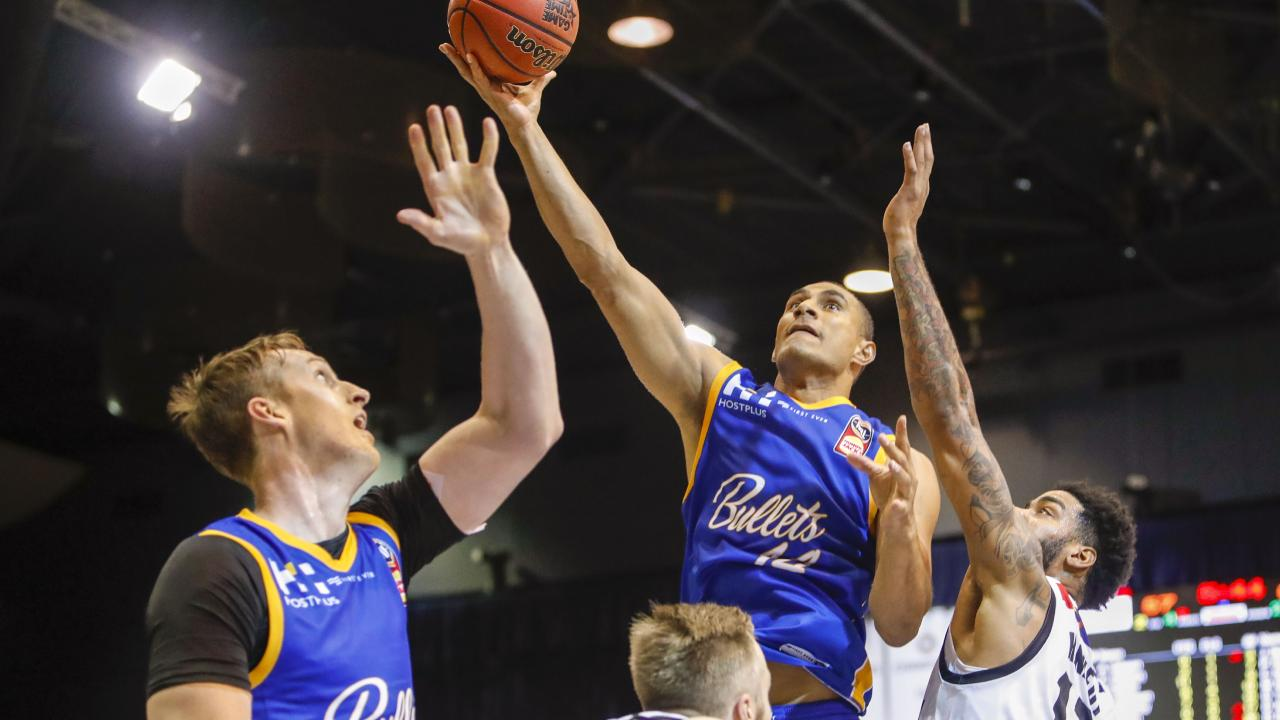 Brisbane have to show their teeth against the Wildcats. (AAP Image/Glenn Hunt)
