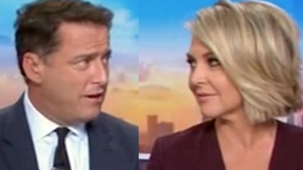 Georgie Gardner was made the promise almost exactly a year ago. Picture: Channel 9
