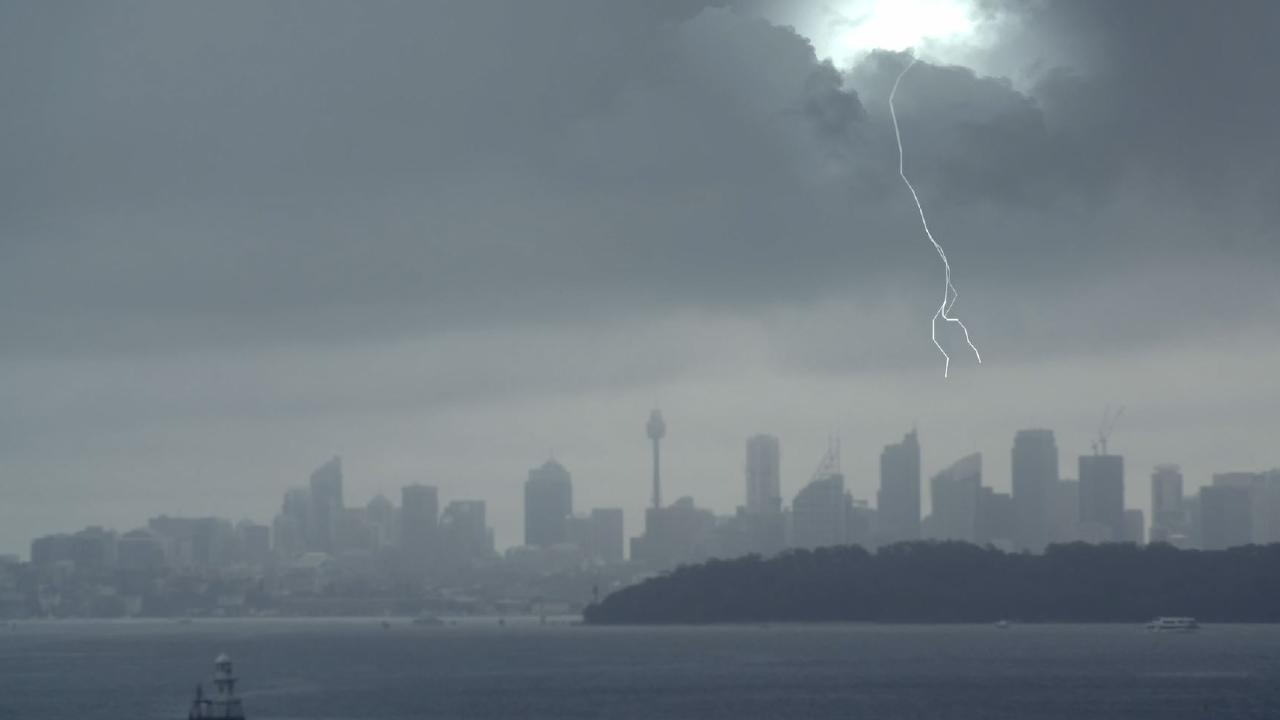 Recent wild storms in Sydney delayed thousands of passengers across the country. Picture: Virgin Australia