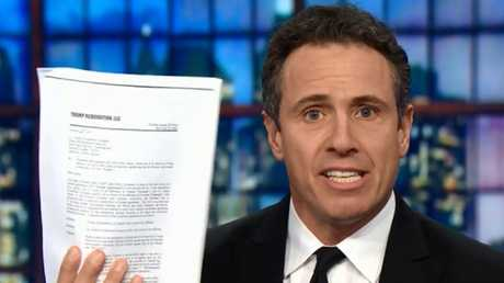 CNN's Chris Cuomo has revealed Donald Trump signed a letter of intent to build a Trump Tower in Russia.