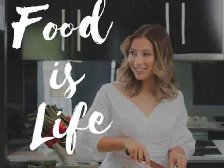 Aimee Pitman ran a popular lifestyle blog called Food is Life. Picture: Supplied