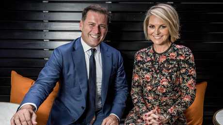 Karl Stefanovic reportedly took the view that Georgie Gardner was 'humourless'. Picture: Jake Nowakowski